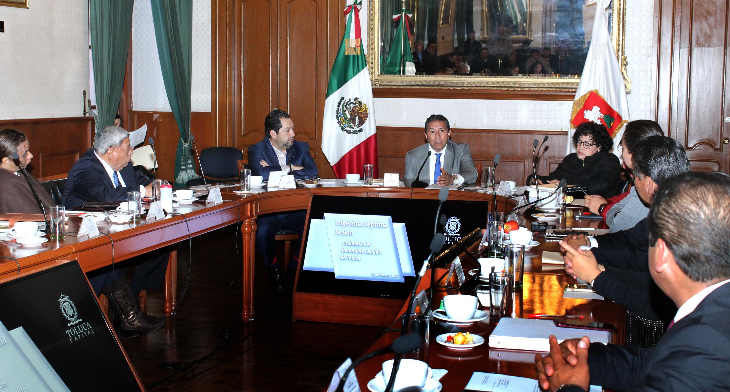 Realizará Toluca convenio con Almoloya de Juárez para precisión de límites territoriales