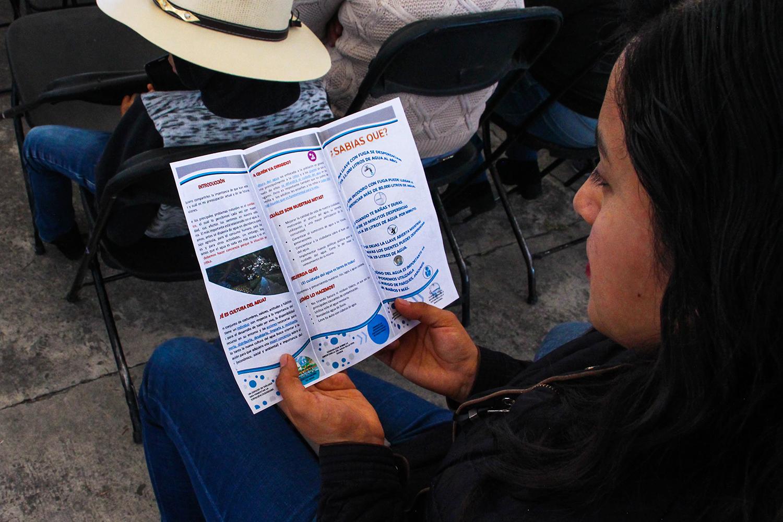 """Agradecen vecinos de Barrios Tradicionales pláticas del """"Día Azul"""""""
