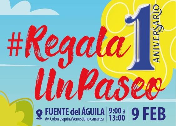 """Invitan a festejar el primer aniversario de """"Regala Un Paseo"""""""