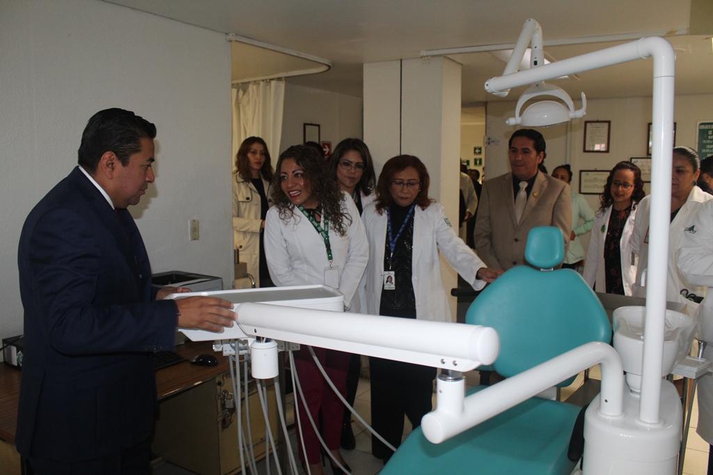 Recibe IMSS equipamiento dental