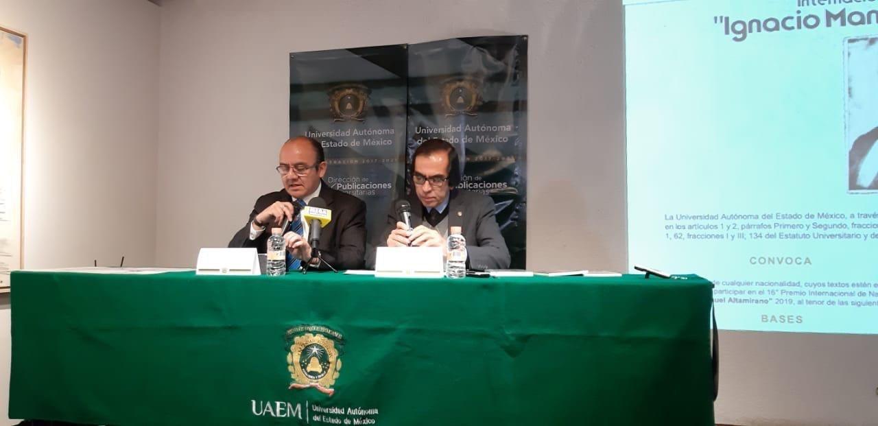 """UAEM invita a participar en Concurso de Literatura """"Horacio Zúñiga Anaya"""""""