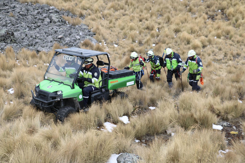 Concluye con saldo blanco operativo invernal en el Nevado de Toluca
