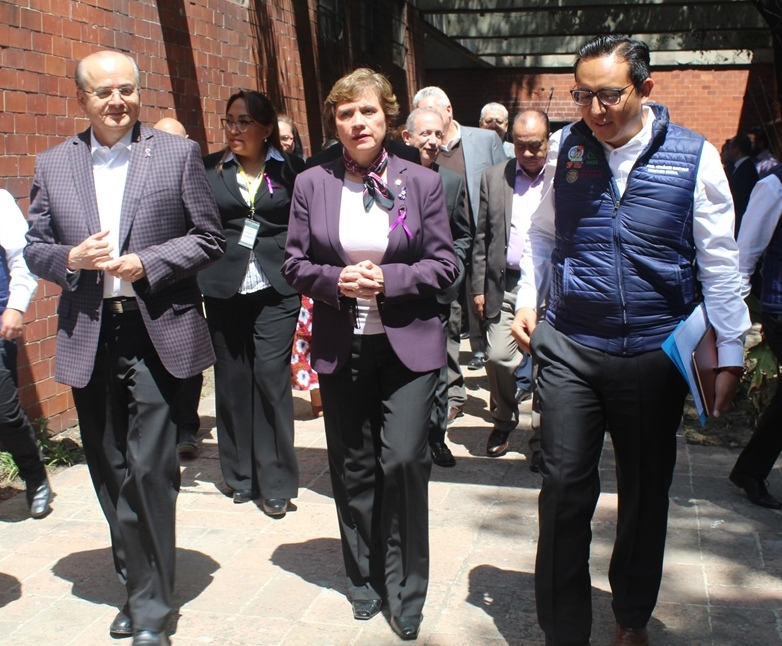 Recibe IMSS Poniente visita del Secretario Nacional del SNTSS
